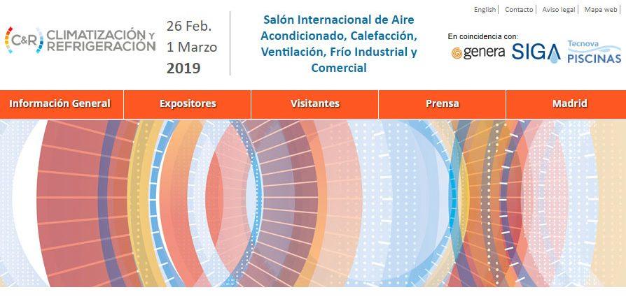 Feria Climatización Constructora Lopez Domenech. Ferias para la Construcción