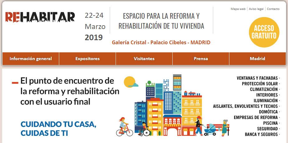 Feria Rehabilitar Constructora Lopez Domenech. Ferias para la Construcción